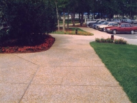 Kingston Plantation - Aggregate Sidewalks